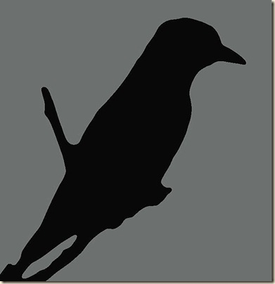 bird-silhouette-teal-black-ramona-johnston