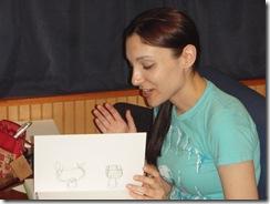 Zullo explaining her art 003