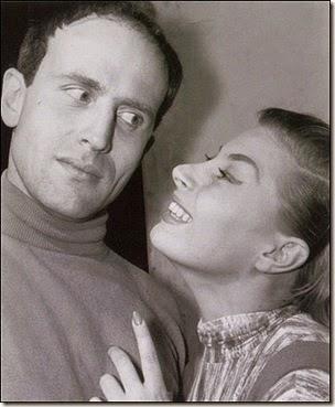 Boris Vian e Magali Noel