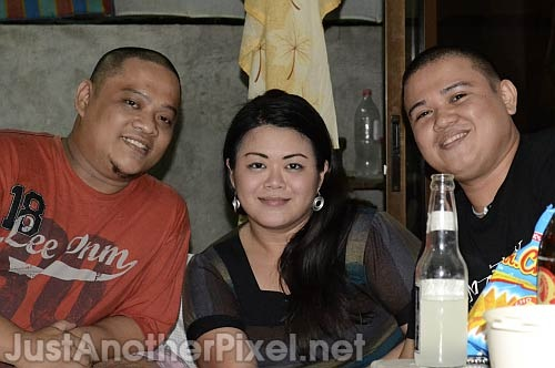 My long-time friends Mhon and Erap