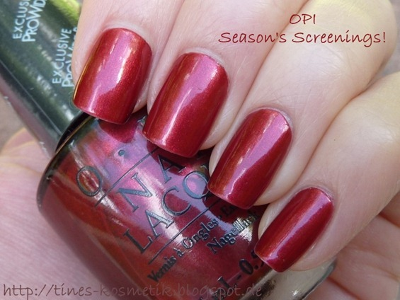 OPI Season's Screenings 3