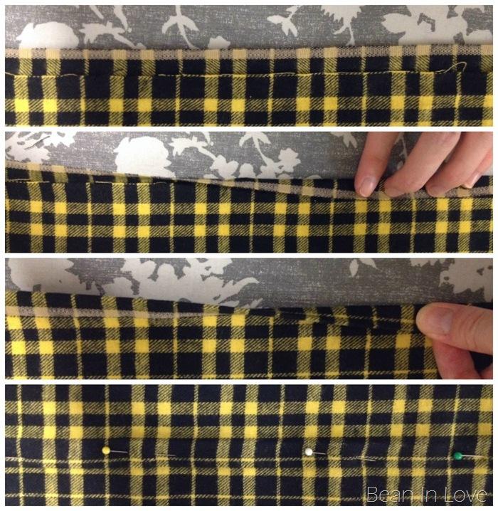 plaid fold