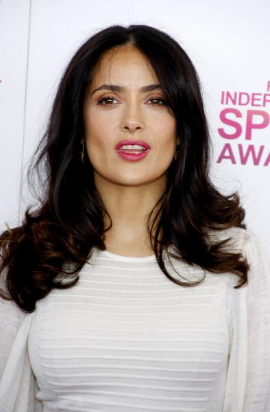 Salma Hayek - Long Wavy Hair