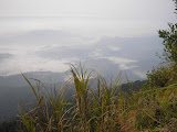 View east from near the summit of Gunung Besar (Daniel Quinn, October 2011)