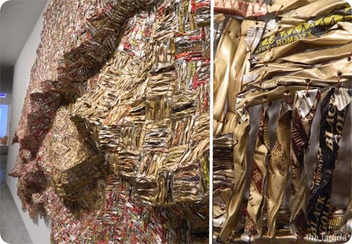 MCA El Anatsui - Anonymous Creature 2