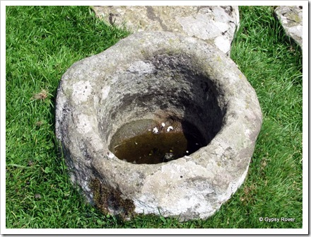 Roman handbasin?