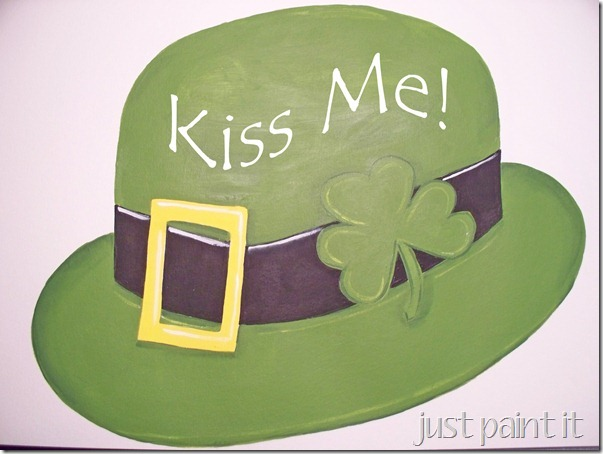 St. Patricks paint craft