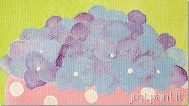 paint hydrangea 3