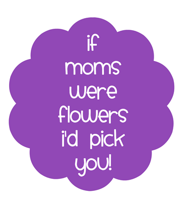 mom tag purple