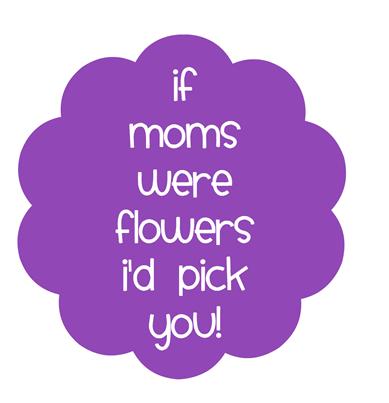 mom tag purple