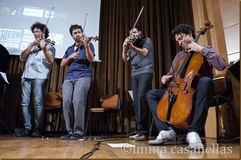 AUPA Quartet, Vilafranca del Penedès 2014