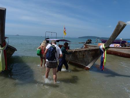 Imagini Thailanda: imbarcare Ao Nang