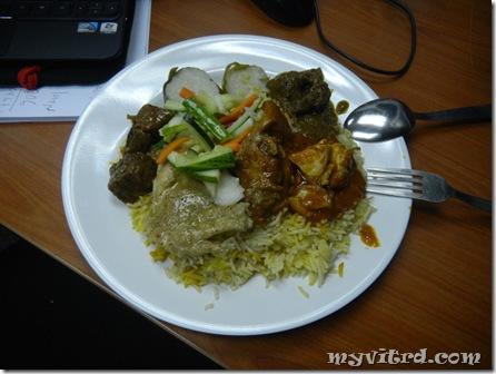 Nasi Beriani Kambing 1