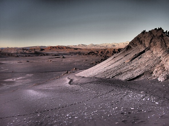 From Mars to the Moon in Chile