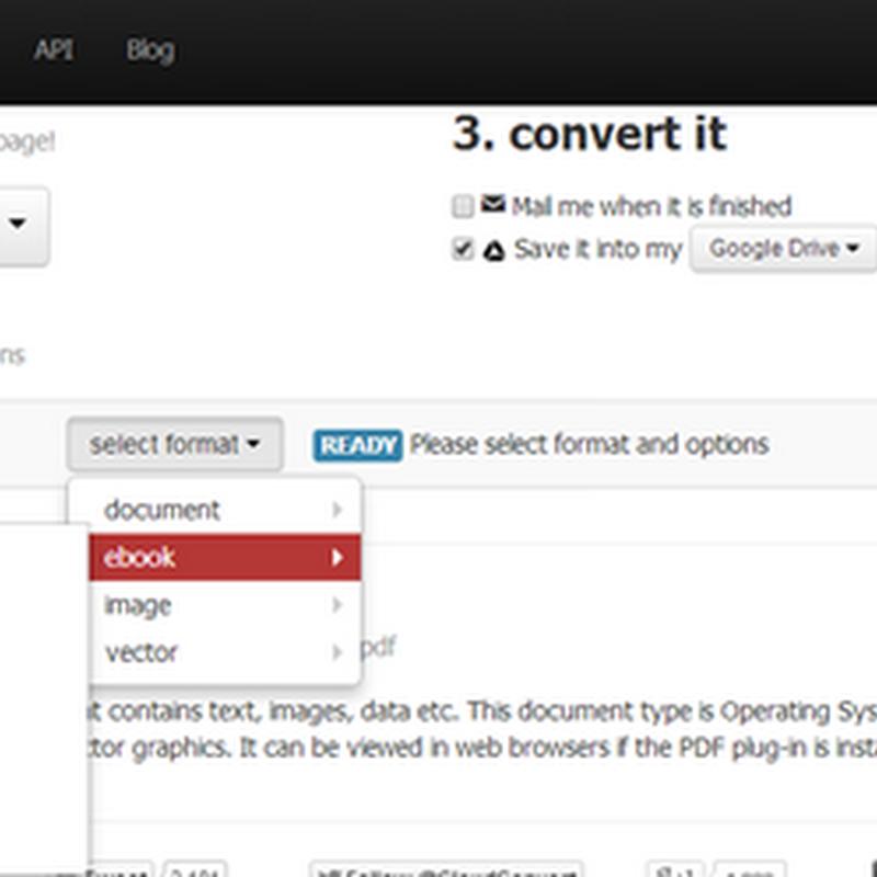 การแปลงไฟล์บน Dropbox และ Google Drive ใน Google Chrome