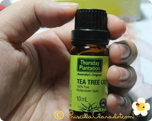 Priscilla review Thursday Plantation tea tree oil