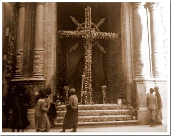 cruz de mayo iglesia San Martin inicio años 30