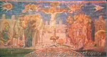 Ufo na Pintura Crucificação