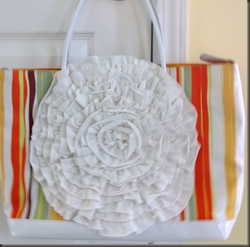 upcycle tote bag