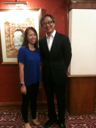 With Mr Chen SM - Extremely polite and gentlemen