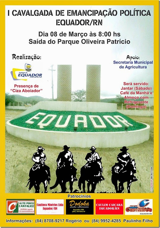 Cavalgada Equador 02