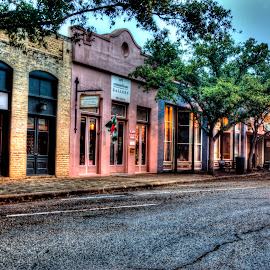 Main St. in Bastrop, TX by Marc Mulkey - City,  Street & Park  Historic Districts ( austin, old, street, bastrop, historic, main,  )