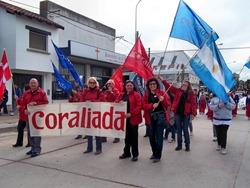 Coro Alta Mira - Desfile 130º Aniversario de Necochea, courtesy of María Nelly Merlo