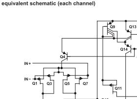 op amp equiv schematic