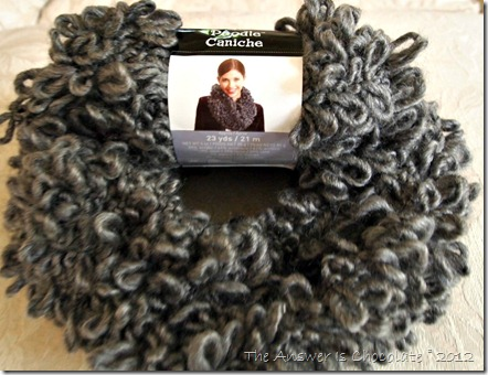 Poodle Yarn Cowl