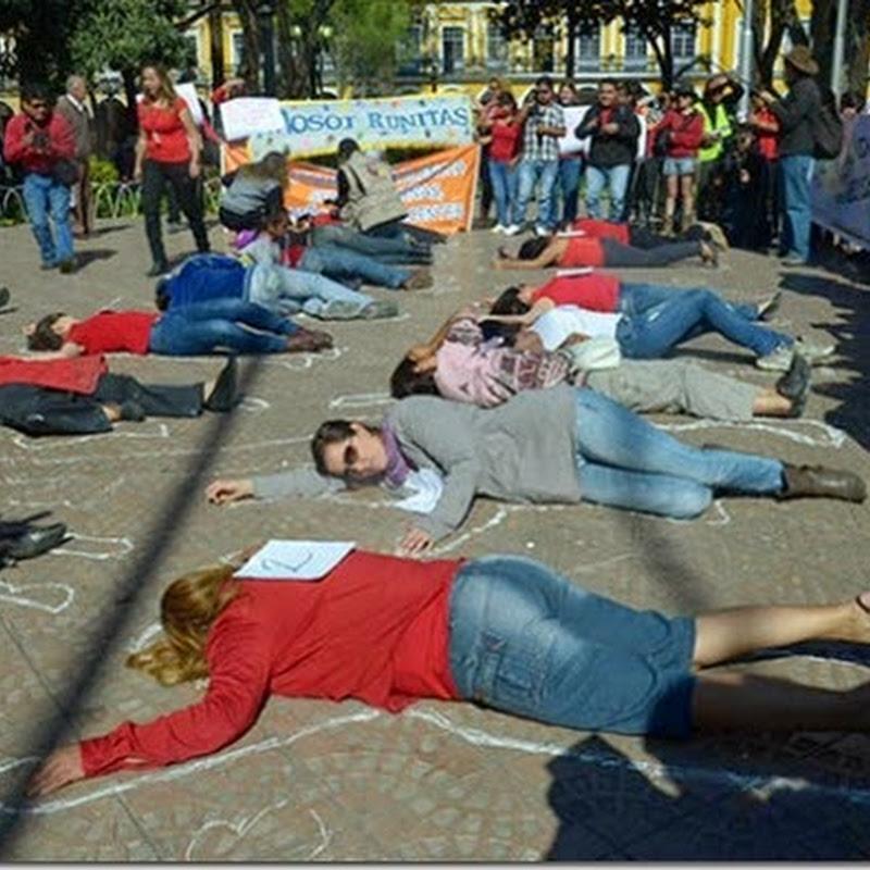 Felcv reporta 42 feminicidios en Bolivia hasta la fecha (2014)