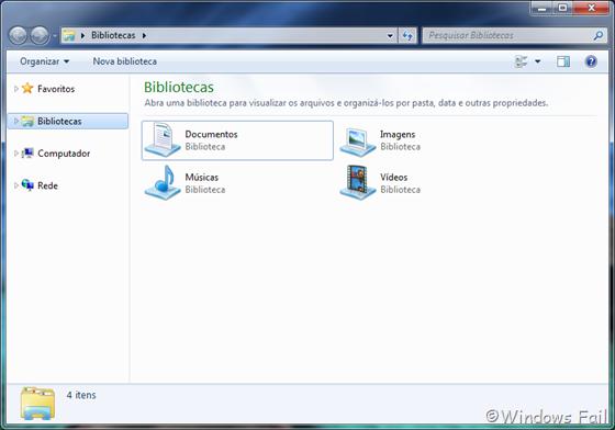 O Grupo Doméstico não aparece mais no Windows Explorer