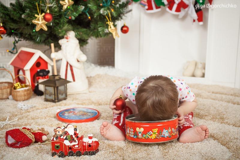 Детский новогодний фотопроект Рождественские мечты. 5. Настенька-8431