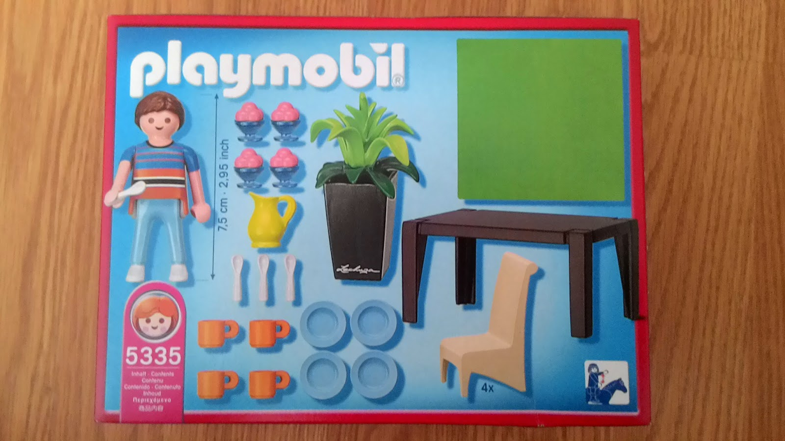 Playmobil 5335 sophia playmobil for Playmobil esszimmer 5335