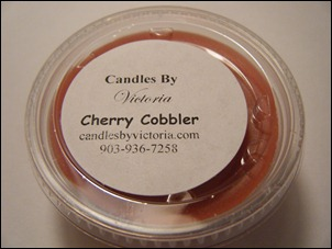 Candles By Victoria - Cherry Cobbler