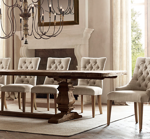 My New Aldridge Dining Table From Home Decorators Collection