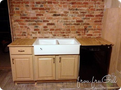 Dry Fitting Farm Sink
