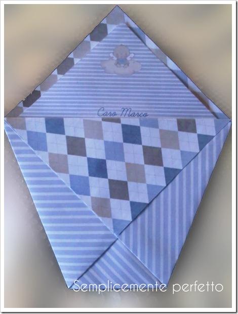 SemplicementePerfetto DIY Biglietto Auguri Portasoldi origami