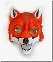 mascara de zorro animales (6)