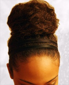 Bun with hair band