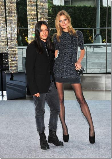 Olivier Theyskens, Constance Jablonski