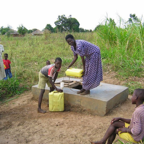 Grace at her well (aliasit group)