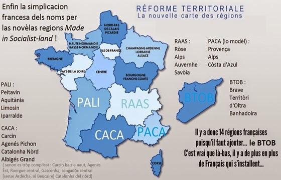 nom de las novèlas regions de la reforma socialista