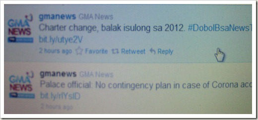 on Twitter from GMA News dated Dec 30