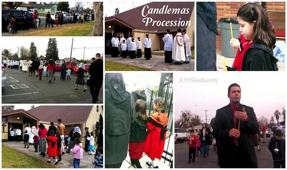 Candlemas Procession collage 2.2.13 v2