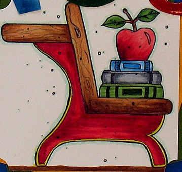Back to School close up