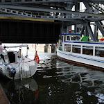 DSC00079.JPG - 17.05.2013. Podnośnia statków w Niederfinow; otwieranie wrót na górnym poziomie (36 m wyżej)