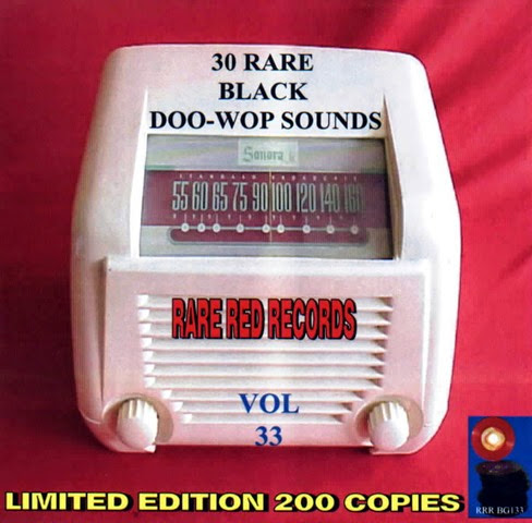 Rare Black Doo-Wop Sounds Vol. 33 - 31 - Front