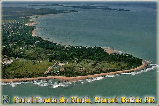 Farol Ponta do Mutá, Peninsula de Maraú, Barra Grande, Maraú, Bahia, Brasil