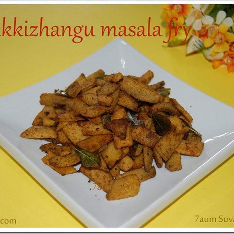 Senaikkizhangu masala fry / Elephant yam fry