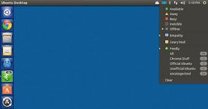Unity Webapps Feedly su Ubuntu